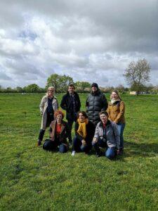 Equipe de la ferme de la Mondière avec Laurent Mariotte